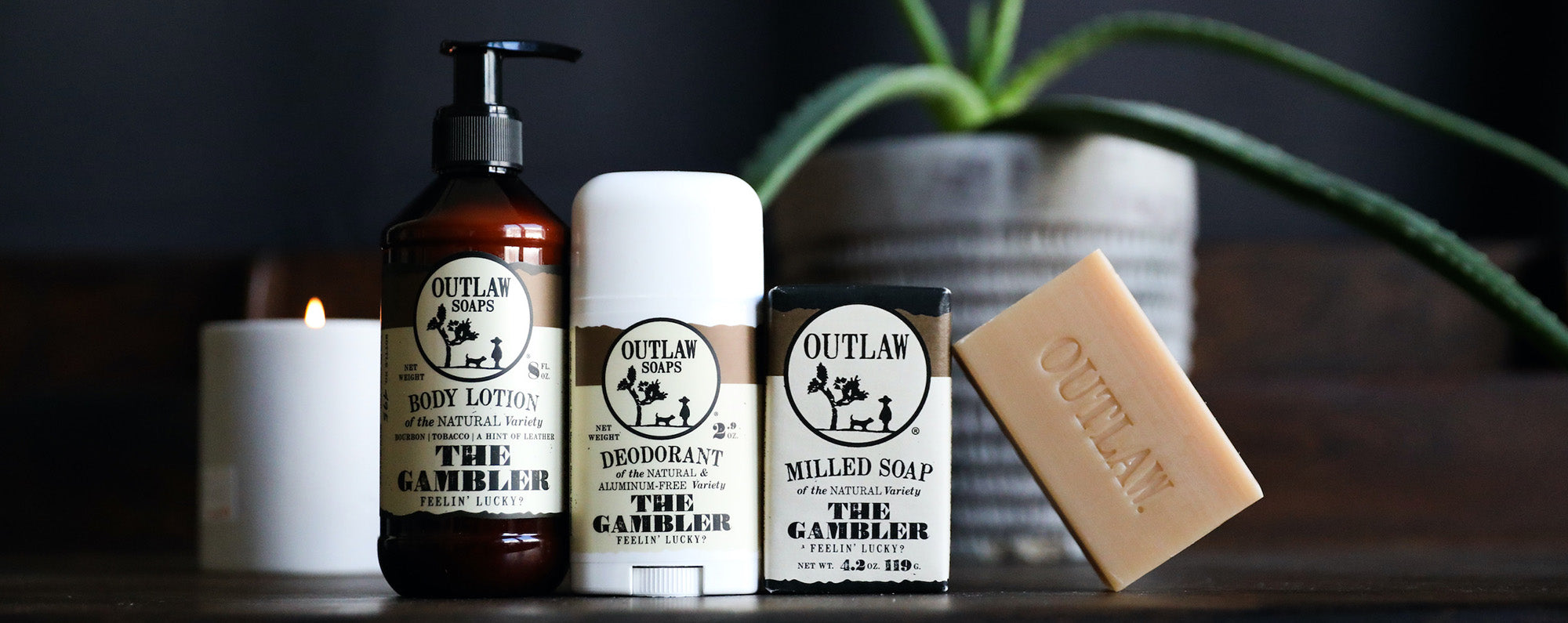 whiskey subscription soap set