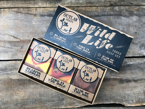 Wild Life Western Soap Gift Set
