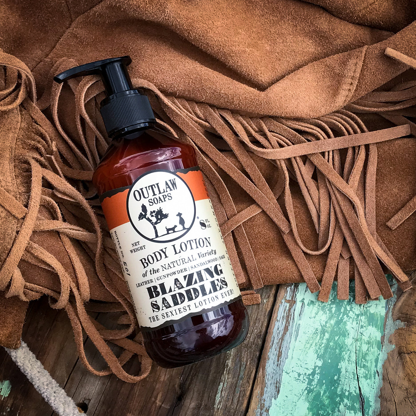 leather scent lotion western