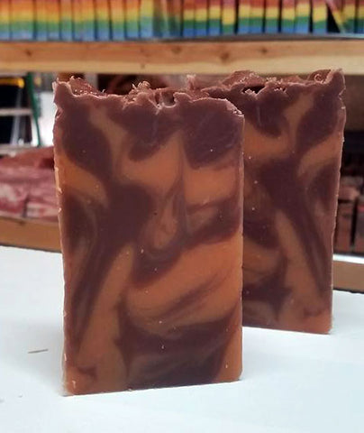 Hair of the Dog Whiskey Soap probably about 5.7 oz of it