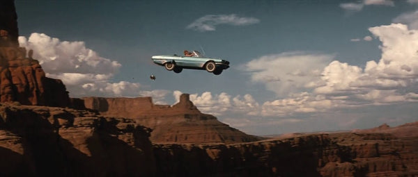 thelma and louise off a cliff