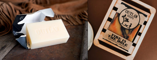 campfire soap handmade or milled