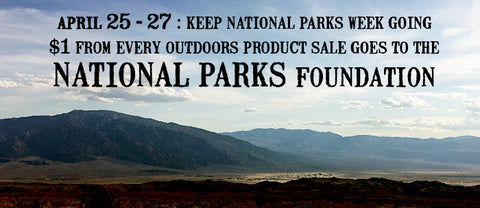 National Parks Week: $1 to national parks foundation