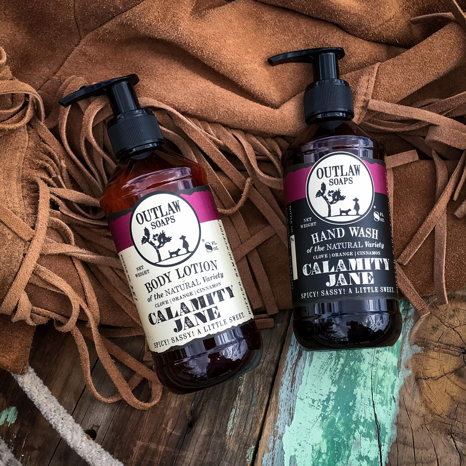 Calamity Jane Hand Wash and Lotion Set Hand Wash & Lotion Set Smell like a Legend: Clove | Orange | Cinnamon
