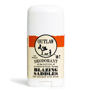 Blazing Saddles Deodorant Deodorant The Sexiest Scent Ever: Warm Leather | Gunpowder | Sagebrush | Sandalwood