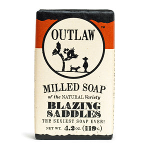 Blazing Saddles Milled Bar Soap Milled Bar Soap The Sexiest Scent Ever: Warm Leather | Gunpowder | Sagebrush | Sandalwood