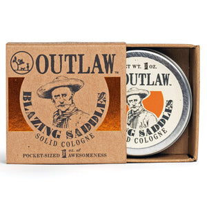 Blazing Saddles Solid Cologne Solid Cologne The Sexiest Scent Ever: Warm Leather | Gunpowder | Sagebrush | Sandalwood