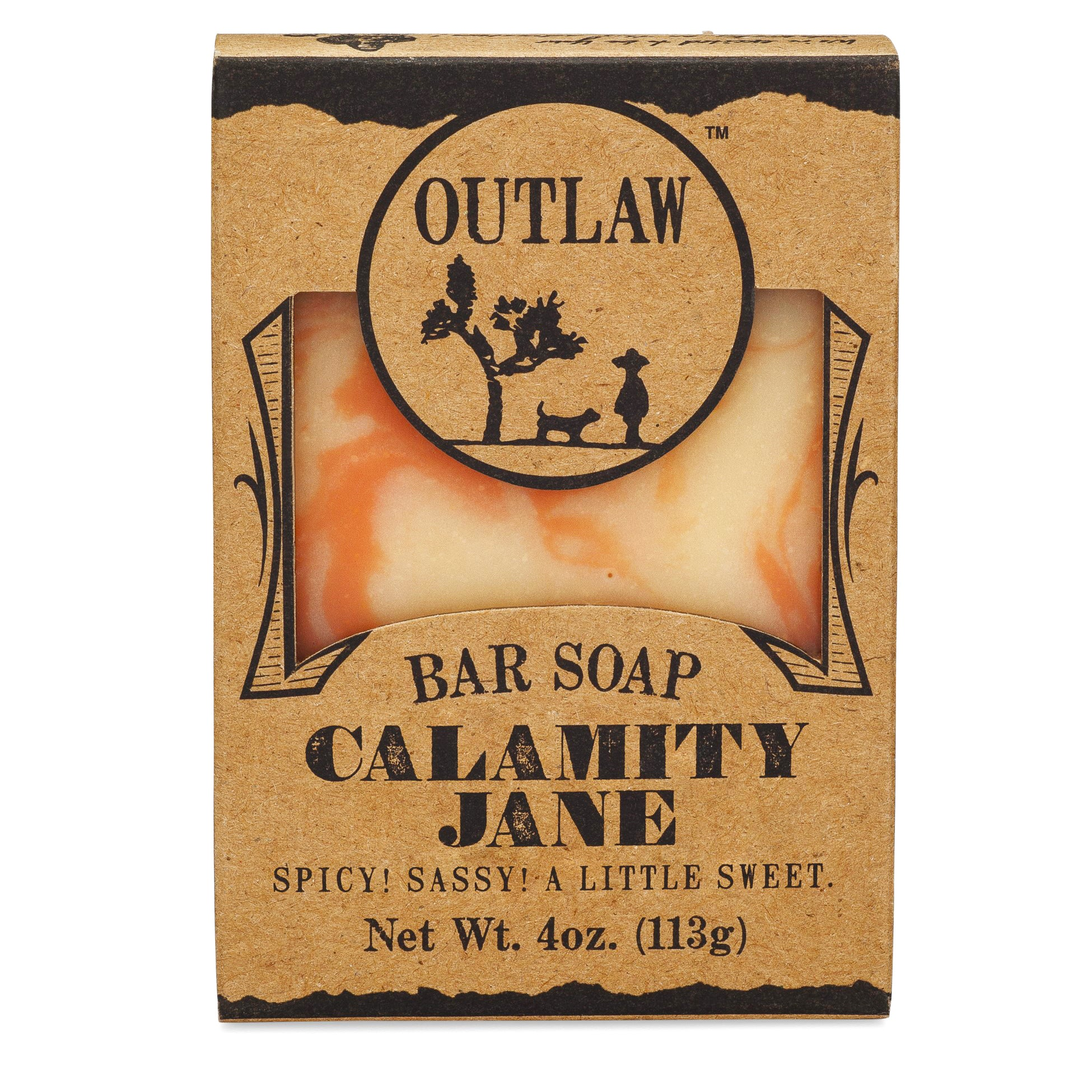 Calamity Jane Spice Handmade Bar Soap