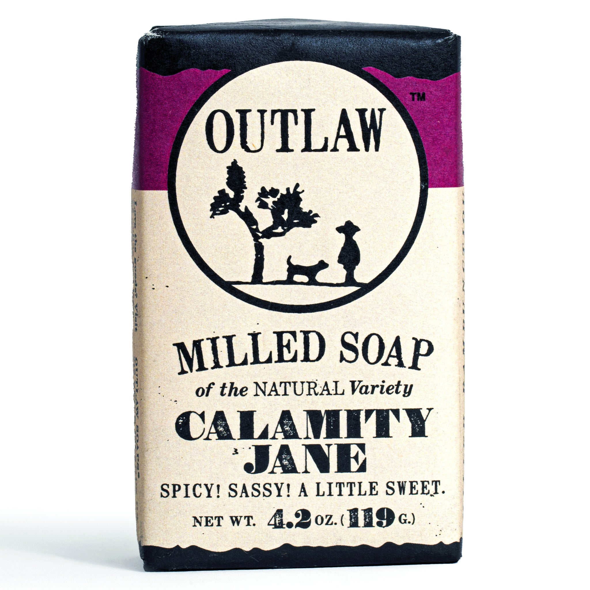 Calamity Jane Spice Milled Bar Soap