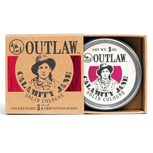 Calamity Jane Solid Cologne Solid Cologne Smell like a Legend: Clove | Orange | Cinnamon