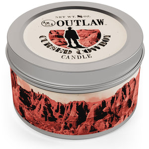 The Cursed Cowboy Candle - 8 oz