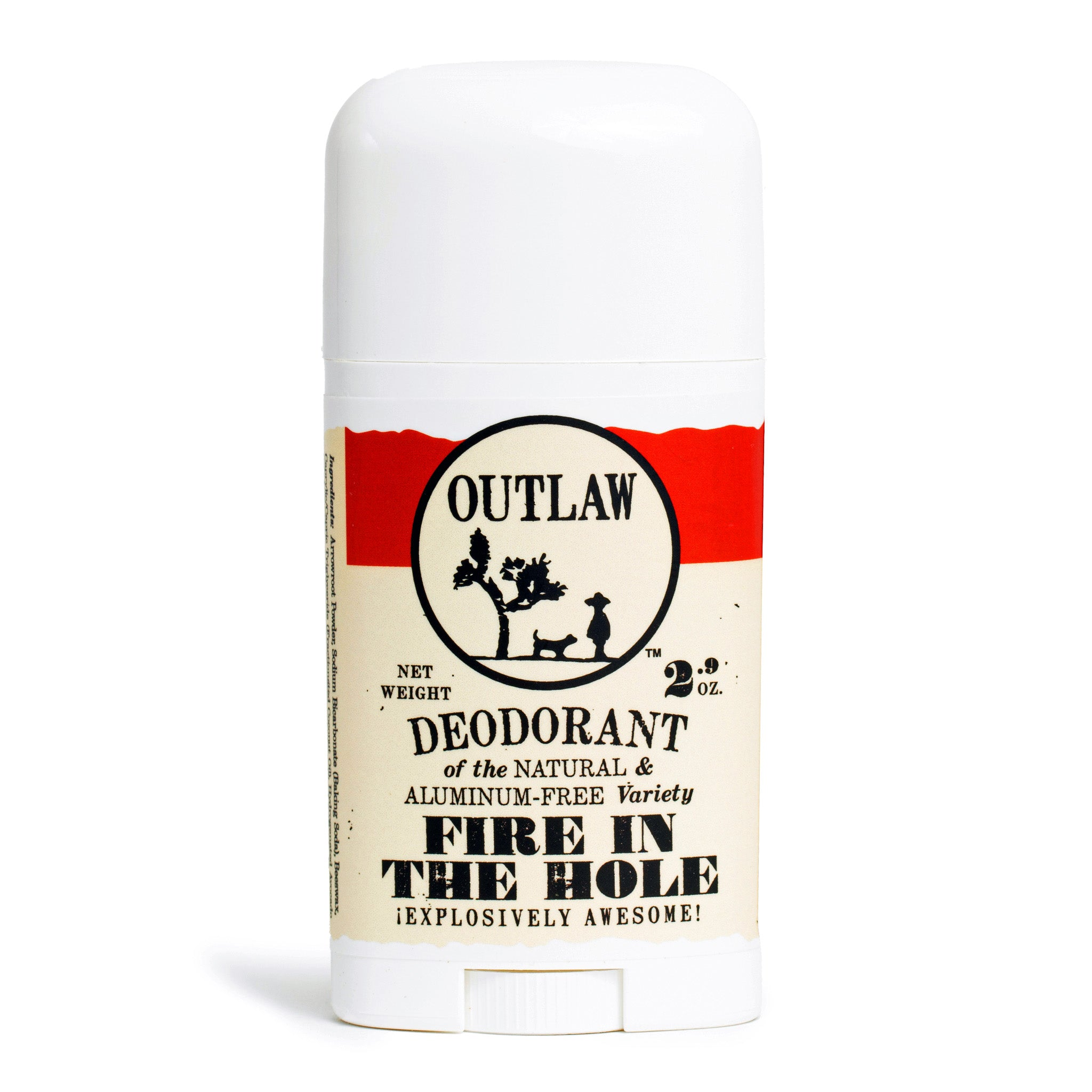 Fire in the Hole Campfire Deodorant