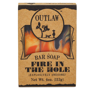 Fire in the Hole Handmade Bar Soap