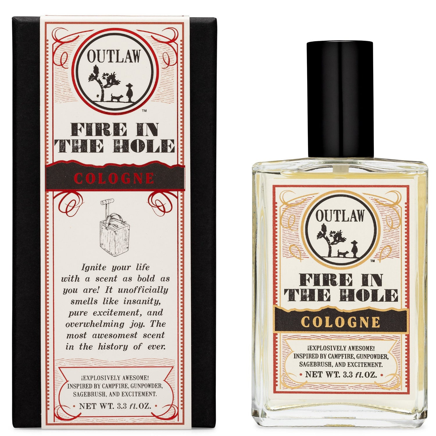 Fire in the Hole Campfire Spray Cologne