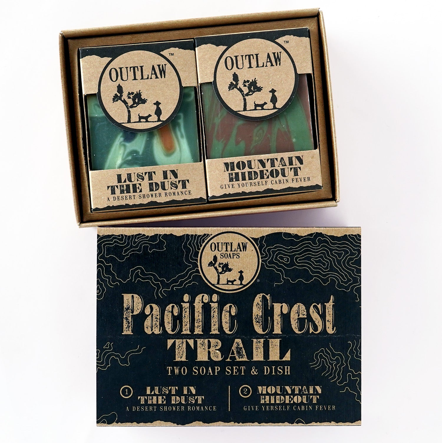 Pacific Crest Trail Adventure Soap Set