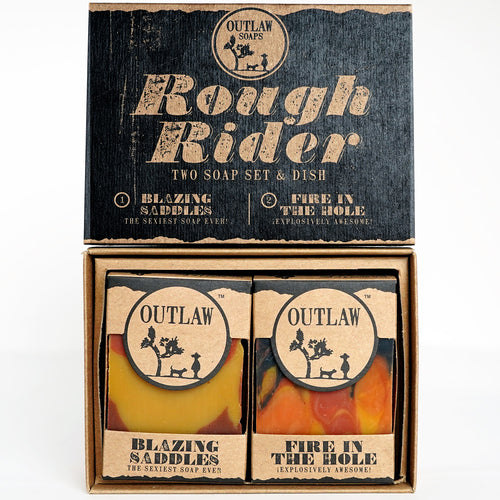 Rough Rider Western Soap Set