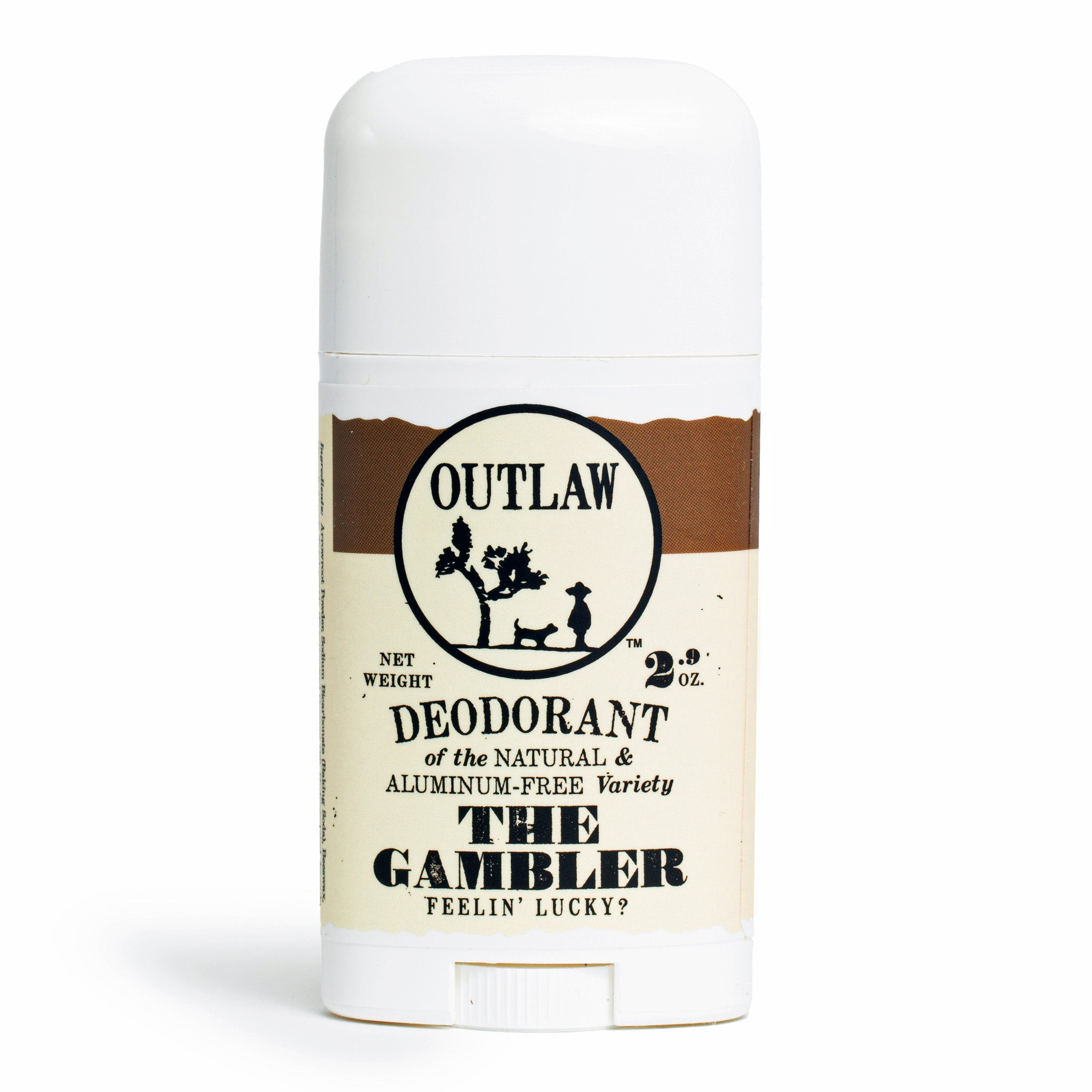 The Gambler Deodorant Deodorant The Luckiest Scent Around: Bourbon | Tobacco | Leather
