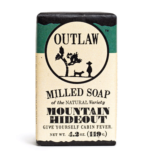 Mountain Hideout Milled Bar Soap