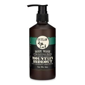 Mountain Hideout Hair & Body Wash Hair & Body Wash In the Mountains, You're Free: Pine | Damp Earth | Campfire