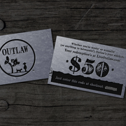 The Outlaw Gift Card Holiday Special