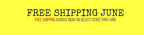 Free Shipping on bicycles, spares, accessories, components and apparel across India in June