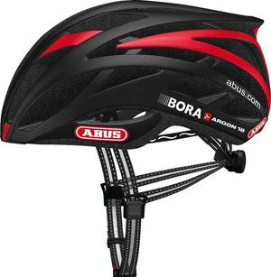 Abus Tec-Tical Pro 2.0 Helmet (Bora - Argon 18 Red)