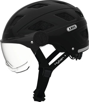Abus Hyban+ Clear Visor Helmet (Black)
