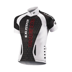 Exustar E-CJ63 Jersey (White/Black/Red)