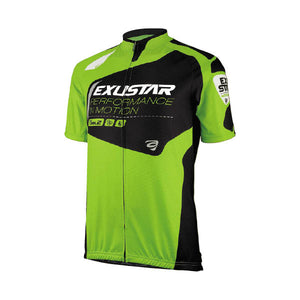 Exustar E-CJ84 Jersey (Green/Black)