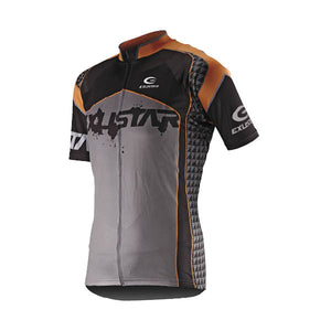 Exustar E-CJ68 Jersey (Black/Grey/Orange)