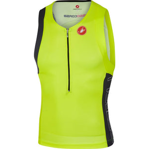 Castelli Free Tri Top (Yellow Fluo)