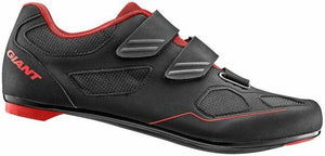 Giant Bolt Shoes (Black/Red)