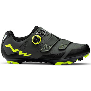 Northwave Scream 2 Plus XC Shoes (Black/Grey/Yellow)