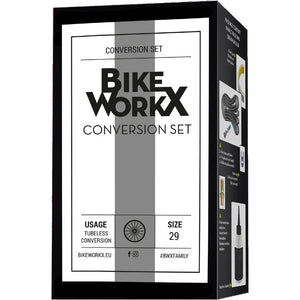 Bike Workx Tubeless Conversion Set