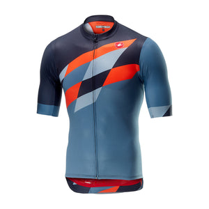 Castelli Tabula Rasa Jersey (Multicolor/Blue/Orange)