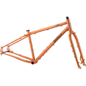 Surly Pugsley Frameset (CANDY YAM ORANGE)