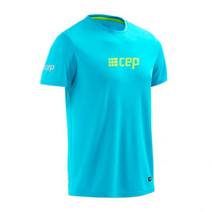 CEP Compression Run Shirts (Hawaii Blue/Green) - BumsOnTheSaddle