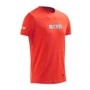 CEP Compression Run Shirts (Sunset/Hawaii Blue) - BumsOnTheSaddle
