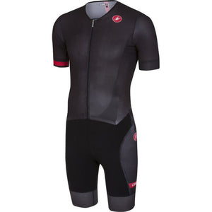 Castelli Free Sanremo Suit Short Sleeve (Black)
