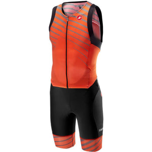 Castelli Free Sanremo Suit Sleeveless (Orange)