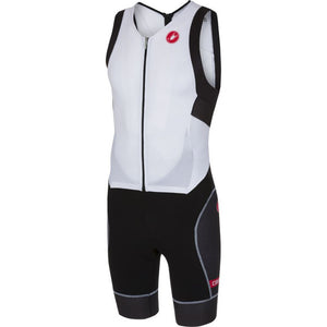 Castelli Free Sanremo Suit Sleeveless (White/Black)