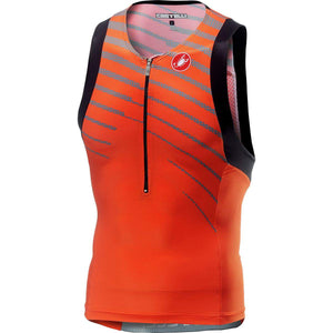 Castelli Free Tri Top (Orange)