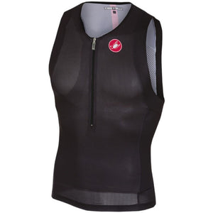 Castelli Free Tri Top (Black/Red)