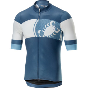 Castelli Ruota Jersey (Light/Steel Blue)