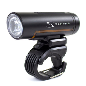 Serfas True 500 Commuter Rechargeable Front Light (Black)