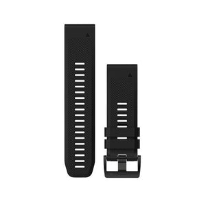 Garmin QuickFit™ 26 Watch Band (Black Silicon)