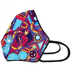Airific Marvel Anti Viral and Pollution Mask (Ironman Grid)