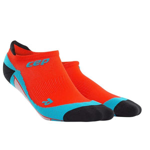 CEP Compression Dynamic+ No Show Socks (Sunset/Hawaii Blue) - BumsOnTheSaddle