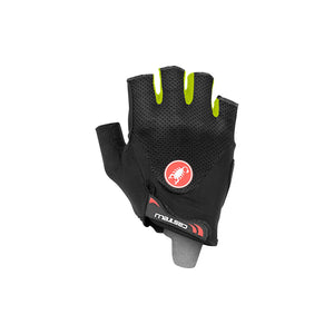 Castelli Arenberg Gel 2 Glove (Black Yellow Fluo)