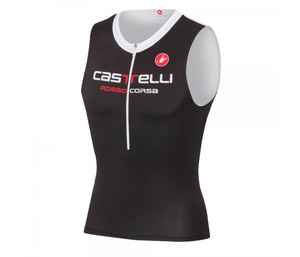 Castelli Body Paint 2 Tri Top (Black/White)